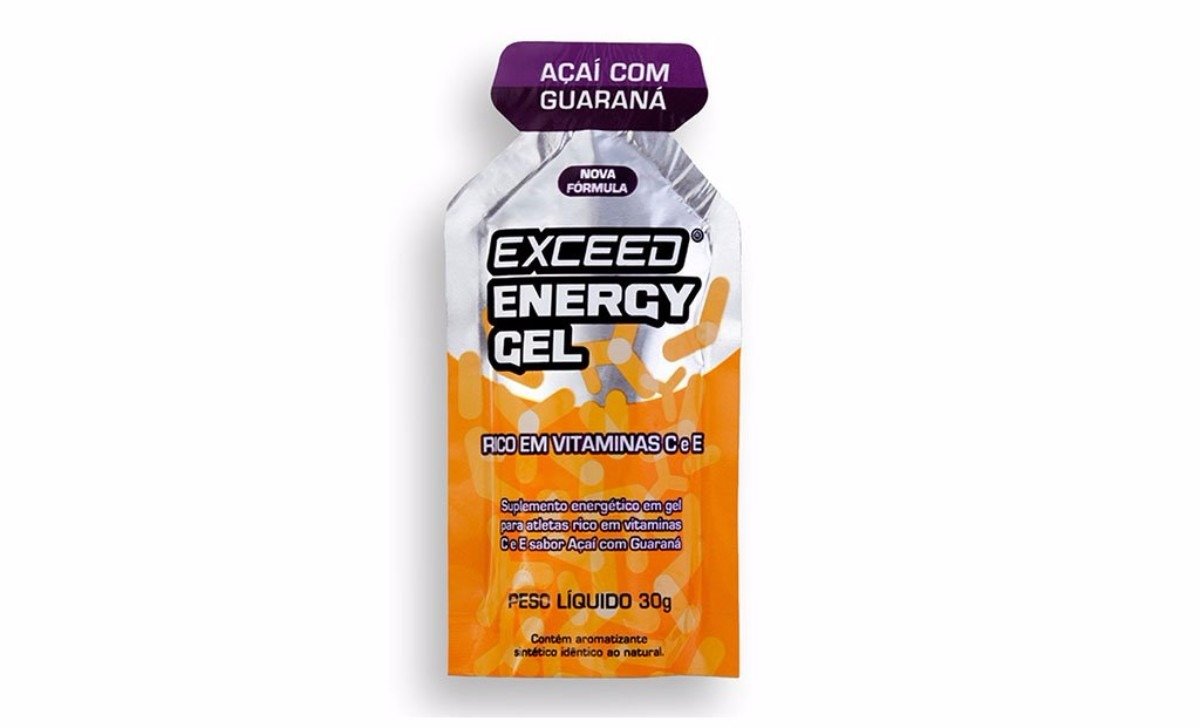 Gel Exceed Energy Açaí c/ Guaraná