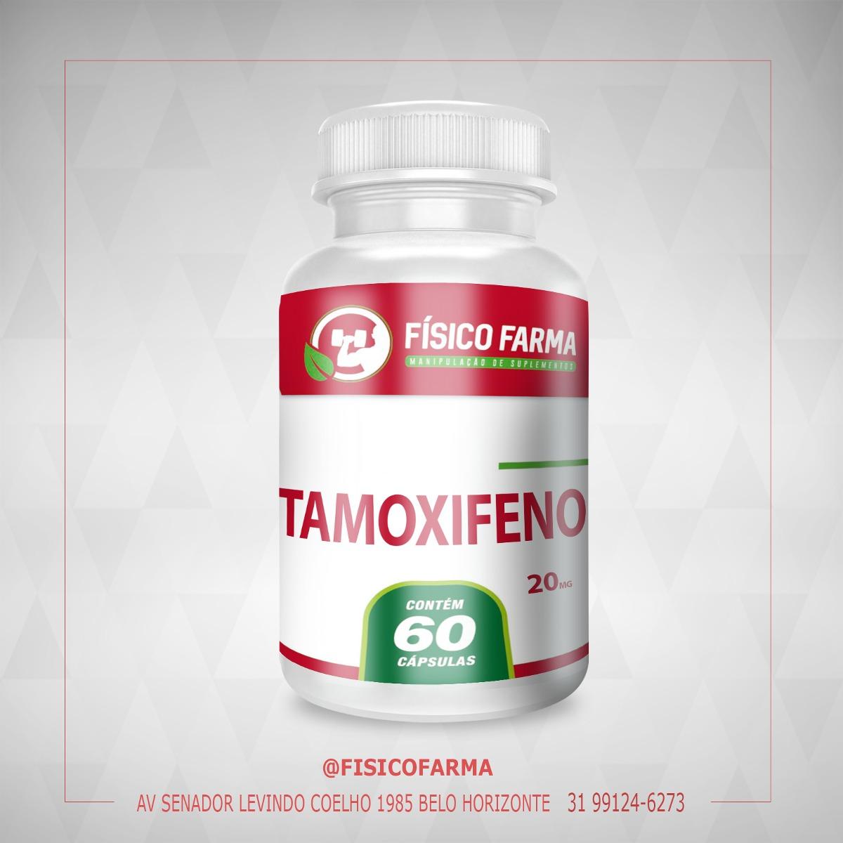 Tamoxifeno 20mg 60 Cápsulas