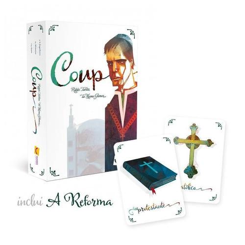 Coup 2ª Edição + Reforma Jogo Tabuleiro Board Game Mandala