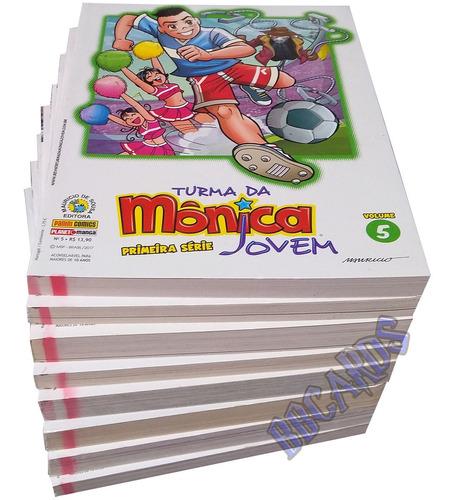 Turma Da Mônica Jovem Primeira Série Edição Encadernada Original