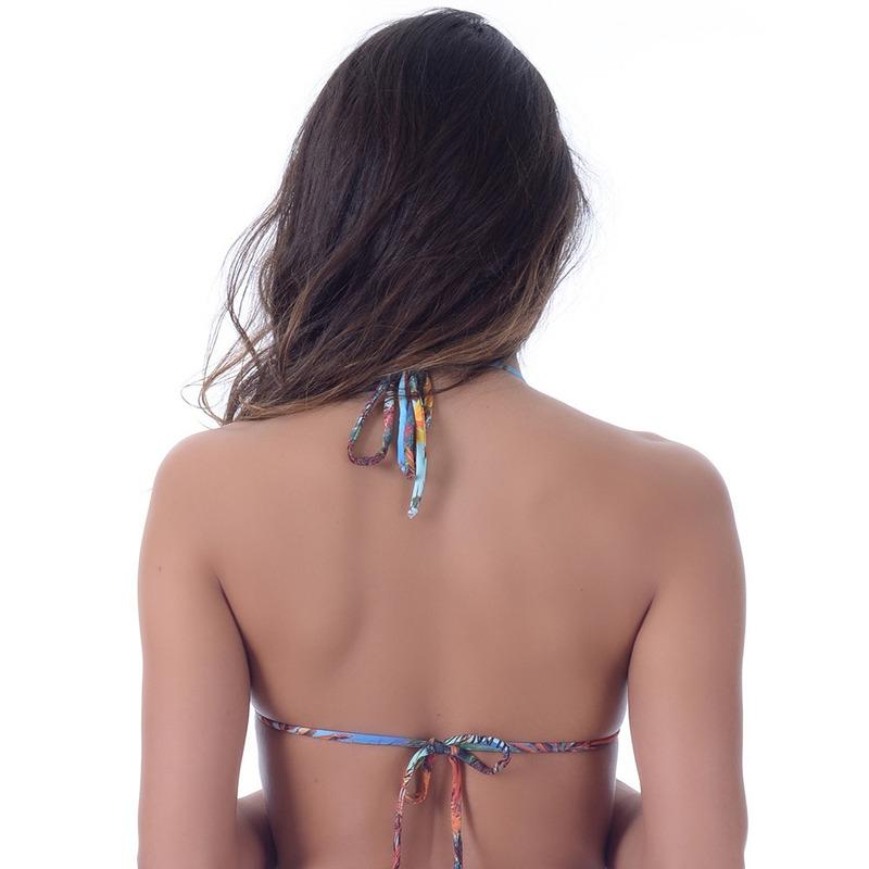 Top Summer Soul Cortininha Com Passante Tropical Bronze