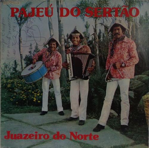 Lp Autografado-pajeú Do Sertão(juazeiro Do Norte)1981