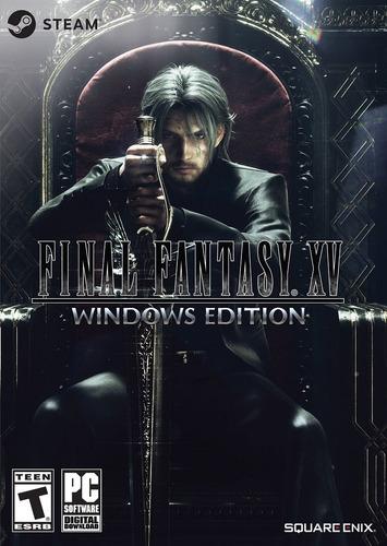 Final Fantasy Xv Windows Edition Pc Steam Key