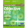Cambridge English Objective First Sb With Answers & Cd rom