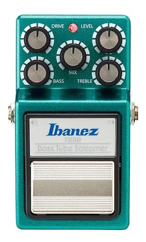 Pedal Ibanez Para Baixo Tube Screamer Ts9 B Original