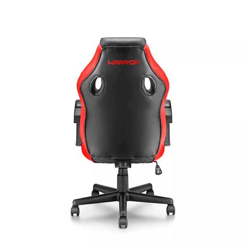 Cadeira Gamer Vermelha Warrior Multilaser - GA162