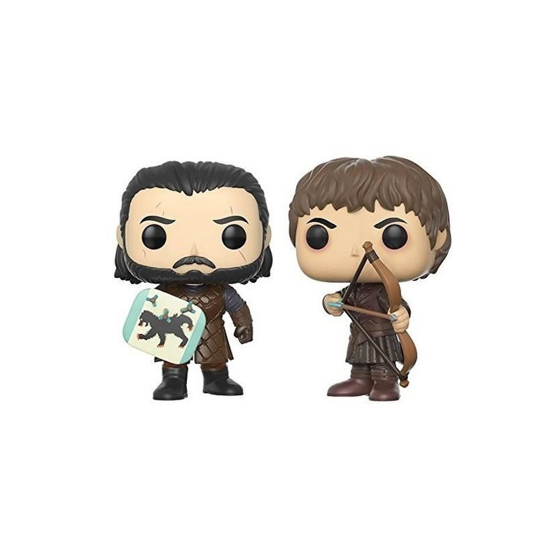 Batalha Dos Bastardos Pop Funko - 2 Pops -  Game Of Thrones