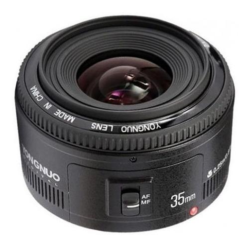 Lente Yongnuo Yn 35mm F2 Canon 70d T6i 7d 5d T5i T6i T5  Sp Original