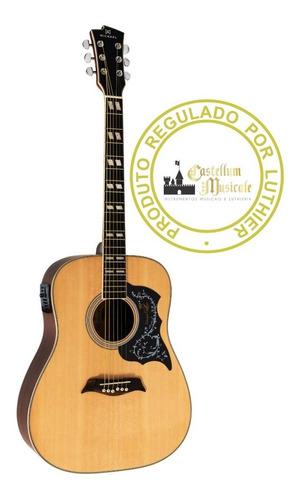Violão Michael Vm 925 Folk Testado E Regulado Por Luthier Original
