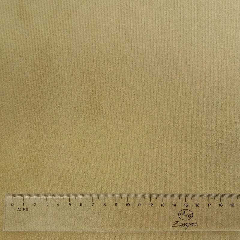 Tecido suede veludo caqui Larg. 1,40 m