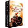 Livro Box Spartacus O Gladiador A Rebelião 2 Livros