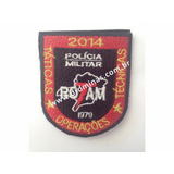 Patch / Distintivo Bordado ROTAM - I