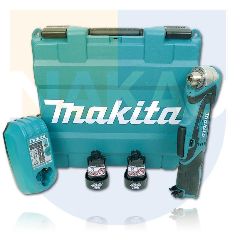Furadeira Angular à Bateria 12V - Makita - DA330DWE - 110 Volts