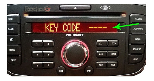 Código Senha Code Recuperar Codigo Radio Ford Focus Original