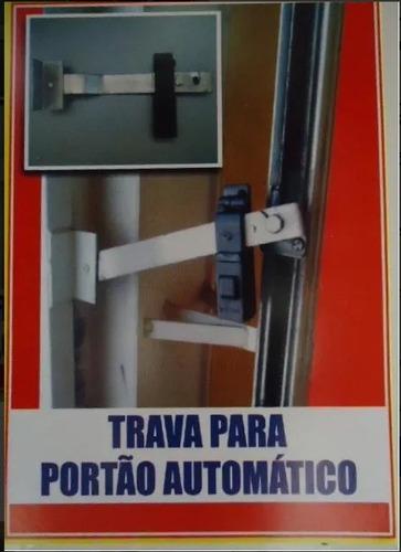 Trava P/ Portão Automático Sem Cadeado Original