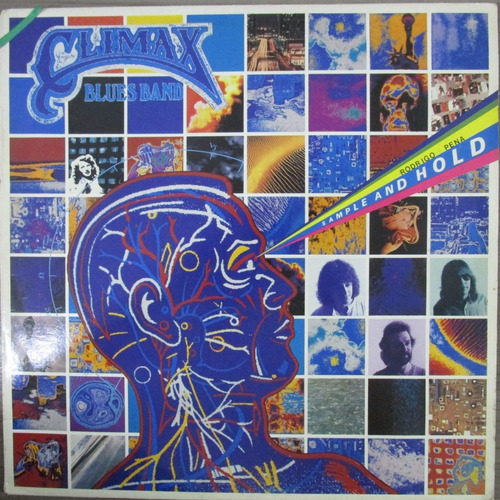 Lp Climax Blues Band Sample And Hold Importado Exx Estado + Original