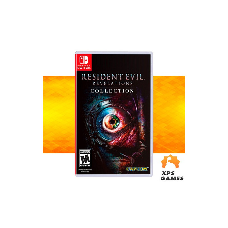 Jogo Resident Evil Revelations Collection - Switch