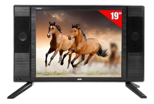 Tv Monitor Escritório Casa Loja Bak Bk-1950isdbt Led Hd 19 Original
