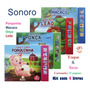 8 Livros Sensoriais Toque E Sinta Sonoros Sons & Texturas