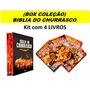 Bíblia Do Churrasco Box 4 Livros Picanha Costela Alcatra