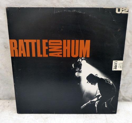 Lp Disco U2 - Rattle And Hum Original