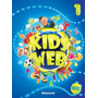 Kids´ Web 1 Livro Do Aluno 2ª Ed. 2014 Dvd rom Cd