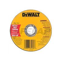 """Disco Corte Dewalt 4.1/2"""" x 1,2 x 7/8"""" Inox"""