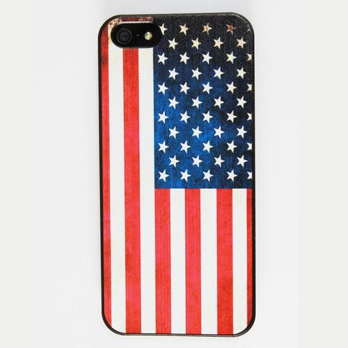 Capa Capinha Case iPhone 5 5s Se - Bandeira Estados Unidos Original