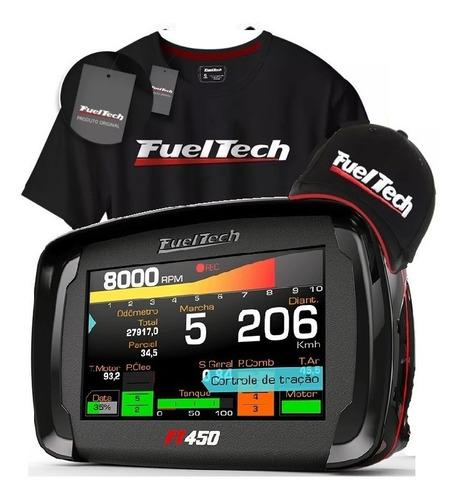 Fueltech Ft 450 Ft450 C Chicote 3 Mts + Brindes Original