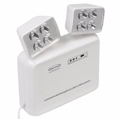 O melhor jeito de comprar on line Iluminação de Emergência LED 2200 Lumens 2 Faróis é na danielEletro.