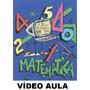 Curso De Matemática! Aulas Em 3 Dvds! P