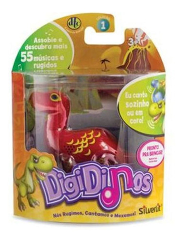 Digidinos Dinossauros Que Rugem E Cantam Dtc Original