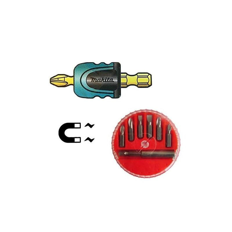 Kit - Adaptador Mag Boost Magnético/Imantado Impact Gold Para Bits + Jogo de 7 Bits + Adaptador