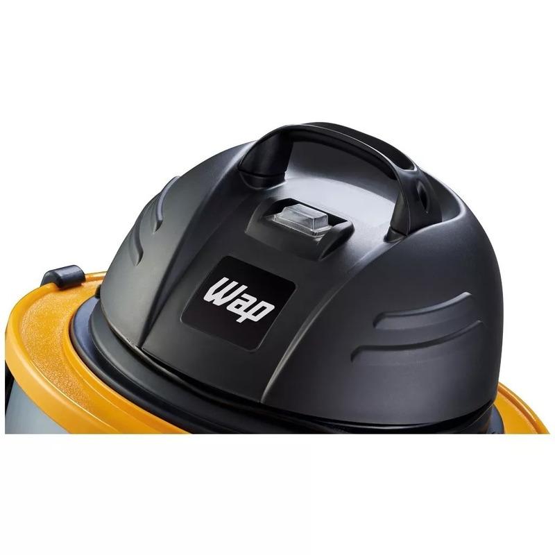 Aspirador de Água e Pó 50 Litros 1600 Watts GTW INOX 50 - FW005575 - Wap - 220 Volts