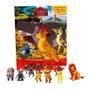 Livro Com 12 Miniaturas A Guarda Do Leao Amigos Da Selva