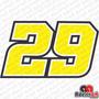Adesivo Andrea Iannone 29 Ducati Moto Gp Motogp Racing