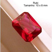 02a9202f810 Comprar Rubi Pedra Preciosa Preço 1 Gema 10x8 Mm Retângulo 3165