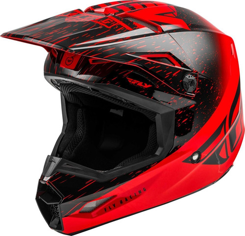 Capacete Infantil Fly Kinetic K120 Motocross Leve Resistente Original