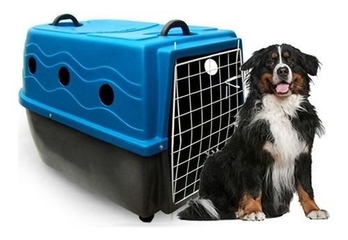 Caixa De Transporte Para Cachorro Plast Kão Numero 4 Original
