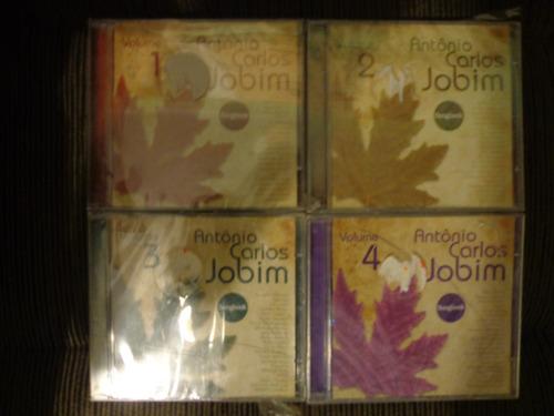 Coleção 4 Cds Tom Jobim - Songbook (lacrados) Original