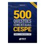 Livro 500 Questões Comentadas Cespe Para Prf 2019