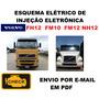 Esquema Injeção Eletrônica Volvo Fh12 Fm10 Fm12 Nh10 tabela