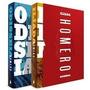 Box Odisséia E Ìlíada 2 Livros Capa Dura Lacrados