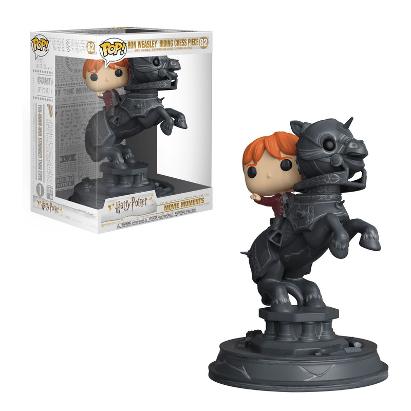 Ron Weasley Riding Chess Piece Pop Funko #82 - Harry Potter Movie Moments