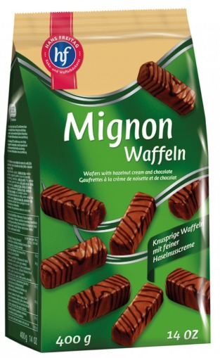 Wafers de Chocolate Mignon Waffeln - Hans Freitag