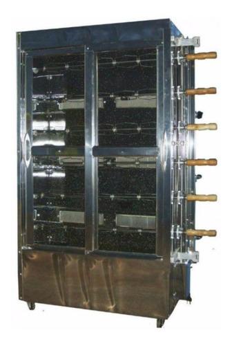 Máquina De Assar Frangos E Carnes Para 30 Frangos Kg-6 Original
