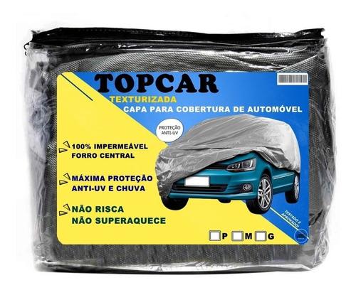 Capa Para Carro Impermeável Proteção Raios Solares Uv Chuva Original