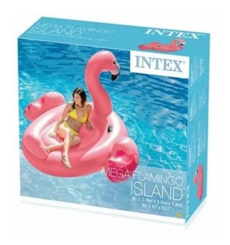 Bote Boia Inflável Flamingo Grande - Intex - 56288 Original