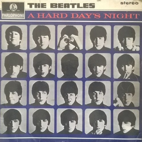 Lp Beatles A Hard Day's Night Stereo 1964 Inglês Sold In Uk Original