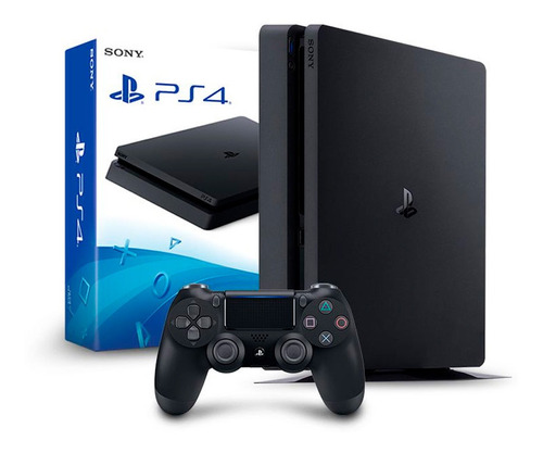 Console Ps4 Slim Playstation 4 500gb + 1 Controle Dualshock Original
